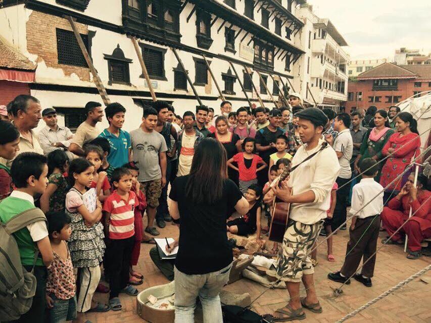 日本で入場無料1000人チャリティーライブを開催し、ネパールにヒカリと音楽を届けたい!