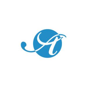 AOIロゴ・ステッカー/スカイブルー