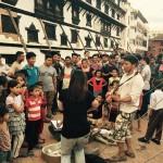 ネパールの地でも大盛況