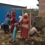 村人多数参加の大プロジェクト