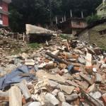 改めて地震の怖さを思い知らされた